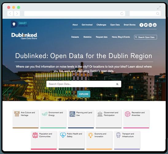 Derilinx Smart Cities | Open Source Data Management System