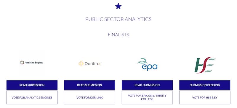 Public Sector Analytics Finalists